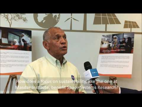 Interview with NASA Administrator Charles F. Bolden Jr., at Masdar Institute