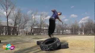 Паркур в городе Шахты