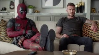 Deadpool 2 Trailer Deadpool Meets and Apologizes to DAVID BECKHAM