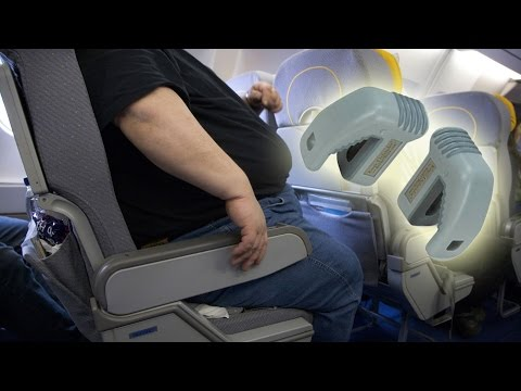 Thumbnail: Fight over Knee Defender anti-reclining seat lock grounds flight - Air rage over seats compilation