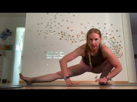 Yoga Foot Behind Head Part 1 Of 2 Stretches With Rhyanna