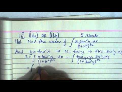 Mp board class 12th mathematics 2011part 2 youtube malvernweather Images
