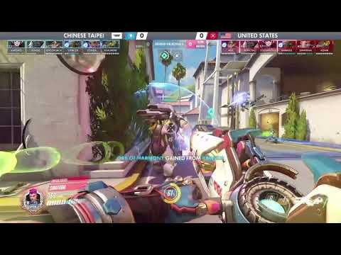 USA vs Chinese Taipei   Los Angeles Group Stage   Overwatch World Cup