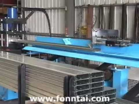 C Amp Z Purlin Roll Forming Machine Youtube