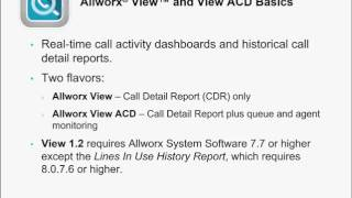 allworx view and view acd 1 2 what s new