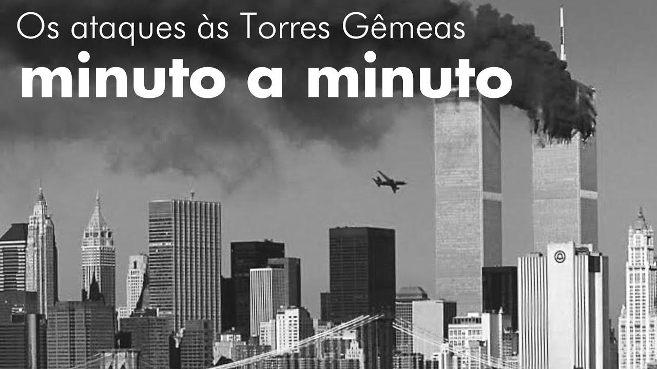 MINUTO A MINUTO DOS ATAQUES DE 11 DE SETEMBRO   Professor HOC