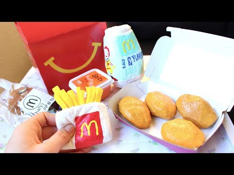 Homemade Mcdonalds Happy Meal Squishy