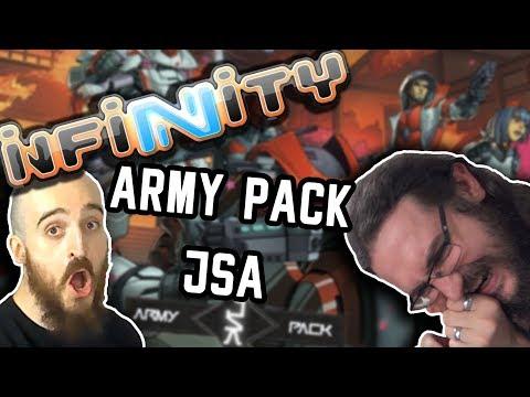 TaGueuleOnOuvre - Infinity - Army Pack JSA