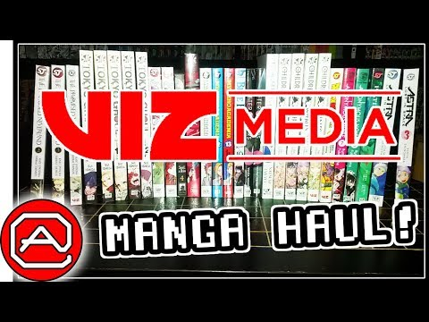 VIZ Media Manga Haul ~ Barnes & Noble Manga Mania