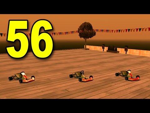 Grand Theft Auto: San Andreas - Part 56 - Go Kart Racing (GTA Walkthrough / Gameplay)