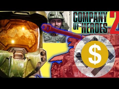 What if Master Chief Fought in WW2? Company of Heroes 2 |
