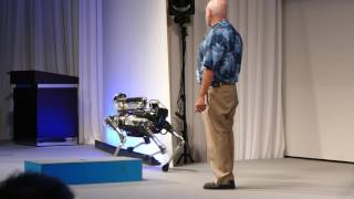 "Boston Dynamics ""Spot mini"" robotic dog 2017"