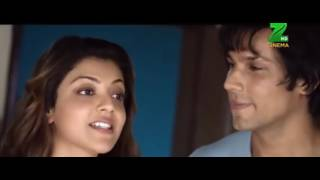 Kajal Aggarwal Liplock Kiss Scene Hot Sexy Navel Hot Boobs Show Boobs Bouncing Short Movie Hindi