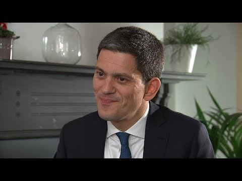 David Miliband on refugees, Brexit and his brother Ed