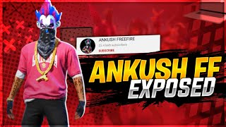 ANKUSH FF EXPOSED || MAIN ID SE GLOBAL SECOND SE MONTAGE || SKYLORD