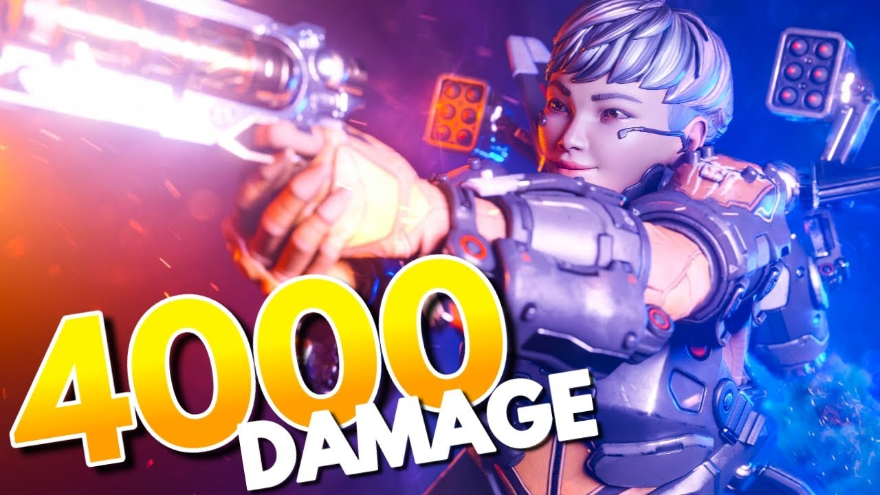 How To Get 4000 Damage Badge With VALKRYIE - Apex Legends Season 9 Legacy