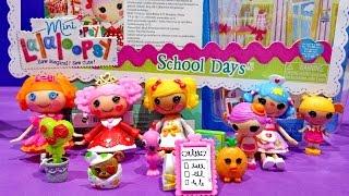 Mini Lalaloopsy Littles Sisters School Days Bea Spells A Lot Kiwi Tiki Wiki Spot Splatter Splash