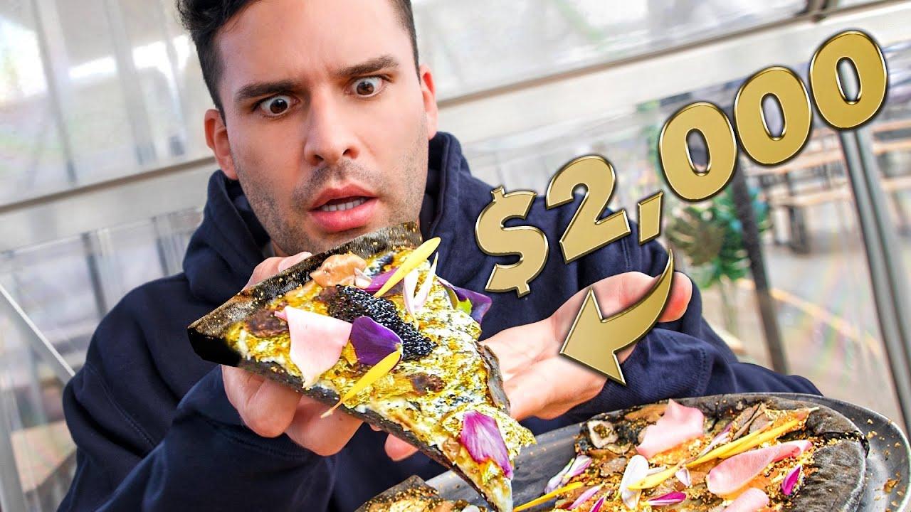 PIZZA DE $2,000 vs PIZZA DE $1