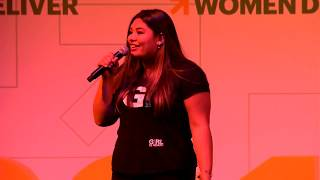 Girl Be Heard performs inspiring Women Deliver song at WD2019