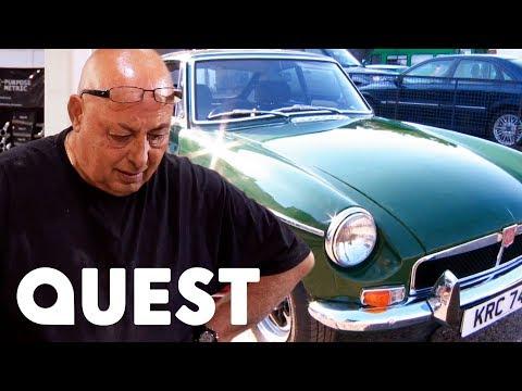 Bernie Loses His Temper During MGB Restoration | Classic Car Rescue