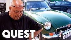 Bernie Loses His Temper During MGB Restoration   Classic Car Rescue
