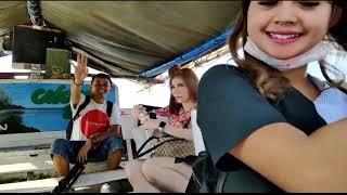 Photoshoot tour to ancol dengan model cindy mamesah