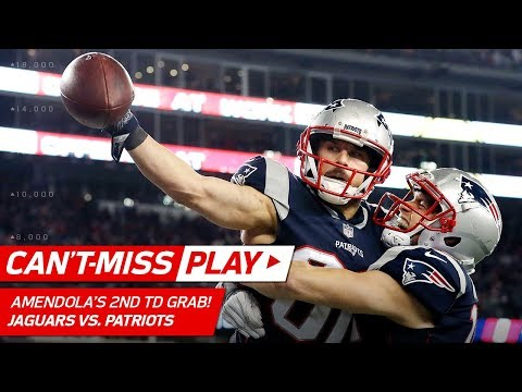 Amendola's Two INSANE Catches Give Pats Go-Ahead TD! | Can't-Miss Play | AFC Championship HLs