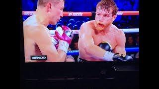 Whhoa!👺 Canelo Beats Triple G Post Fight Reaction