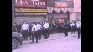 MY ORIGINAL FOOTAGE OF SOME OF THE NYPD & FDNY COMMAND POSTS STAGING AREAS ON SEPTEMBER 11, 2001.
