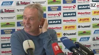 Christian Streich reagiert überrascht auf Bayerns Medienschelte