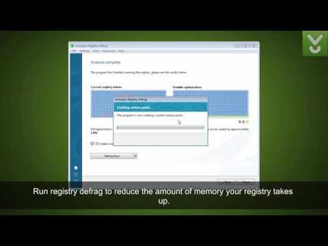 Auslogics Registry Defrag - Optimize your system registry - Download Video Previews