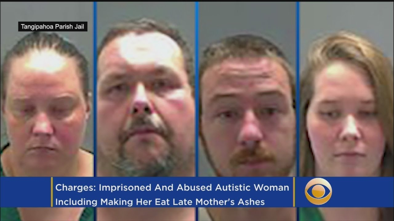 Family Members Caged Autistic Woman and Make Her Eat Their Dead Mother