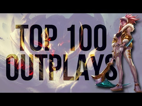 LoL TOP 100 OUTPLAYS | Best League Moments