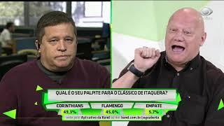 Ronaldo e Sandro discutem antes de Corinthians x Flamengo