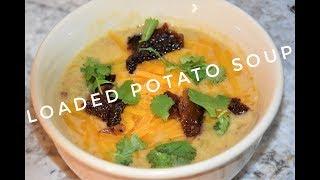 Loaded Potato Soup Recipe - Pressure Cooker Soup Recipe