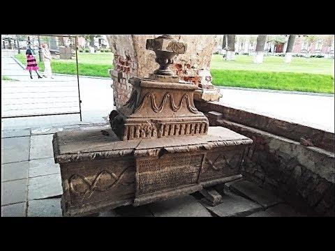 АРТЕФАКТЫ Донского монастыря. АРКИ в ЗЕМЛЕ. НАДГРОБЬЯ. ГЕРБЫ и НАДПИСИ