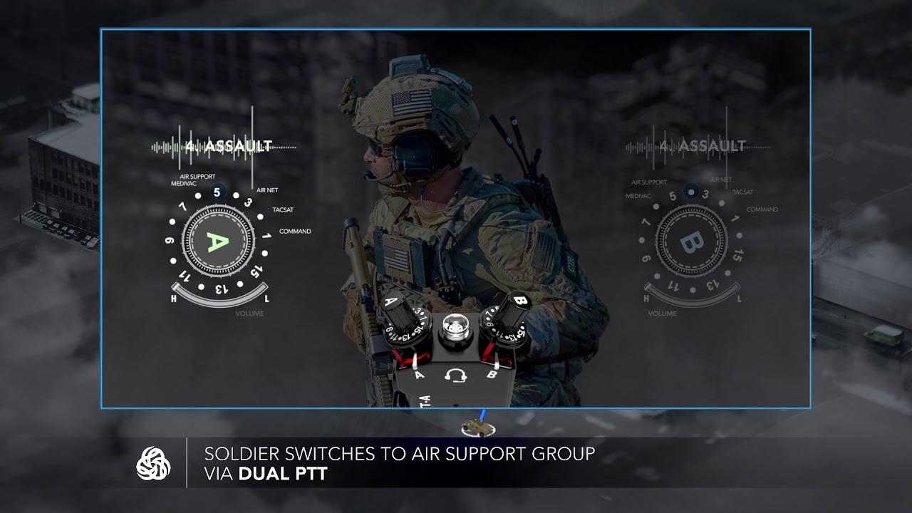 Dual PTT: Radio over IP (RoIP)