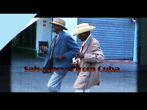 Two old Cuban man showing hot Salsa moves - Nova Latin Cuba -