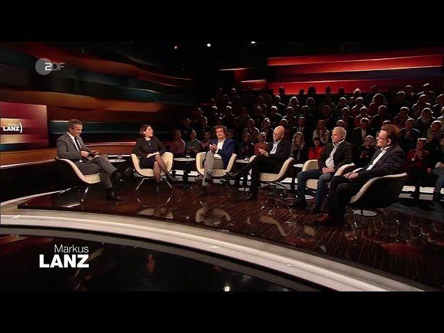 Markus Lanz 28.01.2020 Andreas Hollstein, Christoph Kreutzmüller,Deborah Feldman,