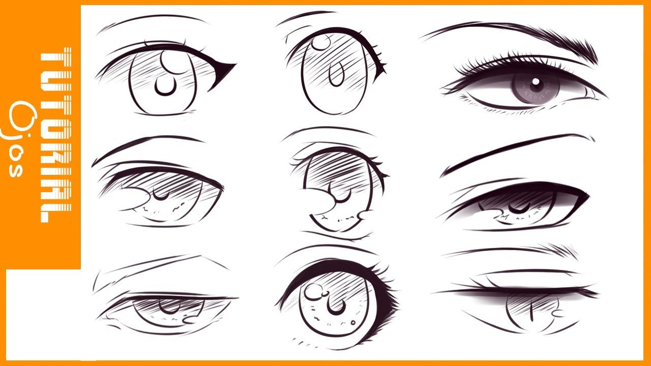 TUTORIAL DE DIBUJO #2 /Como Dibujar Ojos Estilo Anime