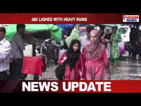 J&K lashed with heavy rains