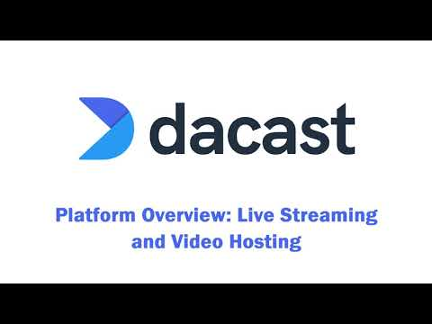 Quick Demo of the Dacast Video Hosting and Live Streaming Solution