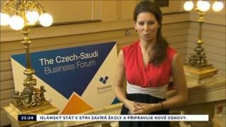 CT24 Ekonomika - Czech-Saudi Business Forum