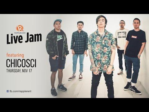 Rappler Live Jam: Chicosci