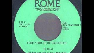 Bill Box ~ Forty Miles Of Bad Road (1967)