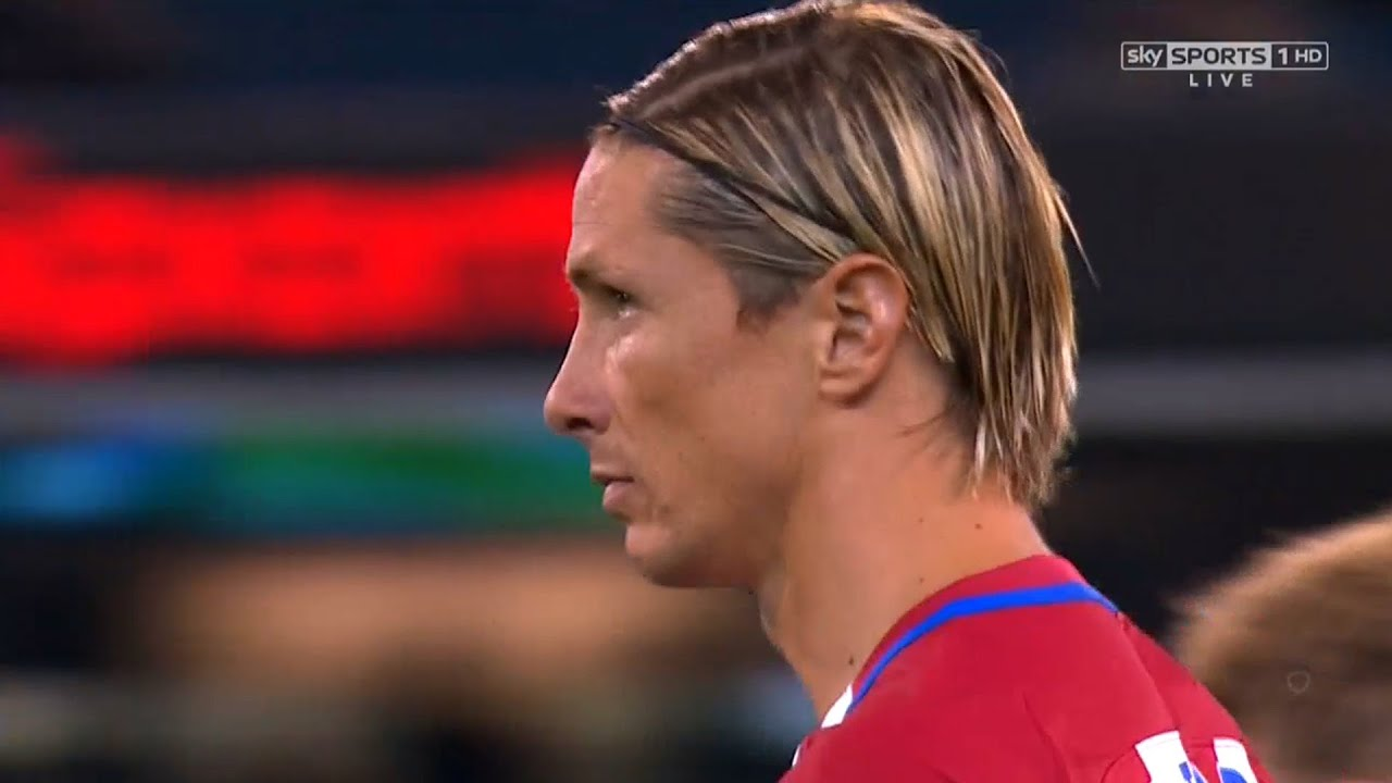 Fernando Torres vs Tottenham N 16 17 HD 720p Pre Season by