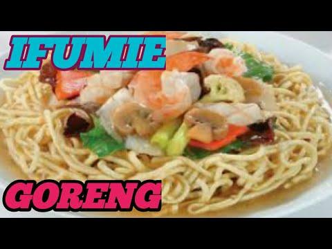 Cara Membuat Ifumie Goreng Ifumie Ala Restoran Chinese Youtube