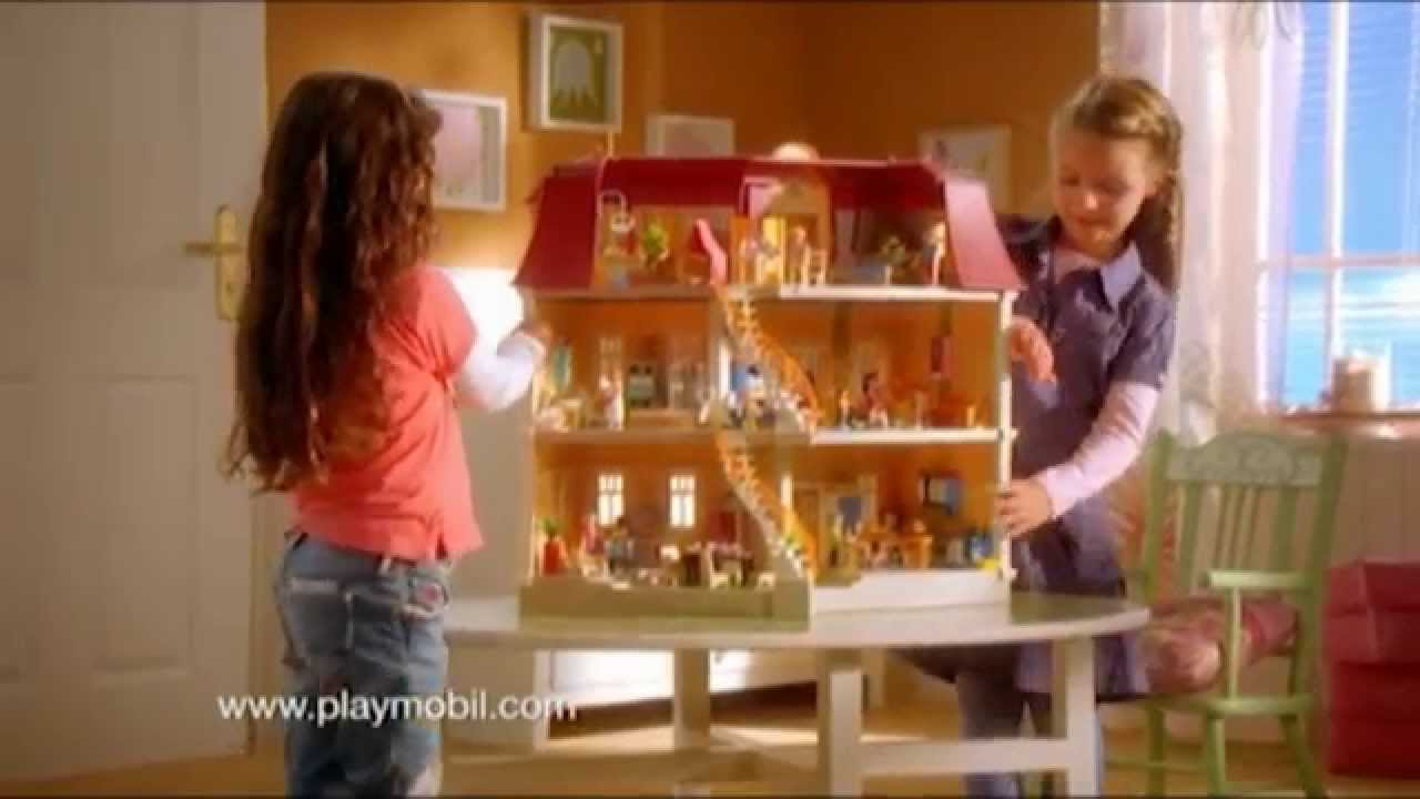 Playmobil la maison de ville fran ais youtube for Cuisine playmobil