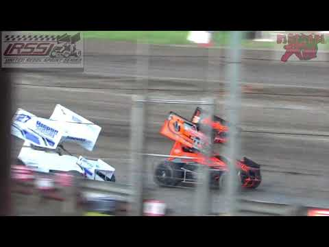 Belleville High Banks - Inaugural 305 Sprint Car Nationals - Heat Races 4-6