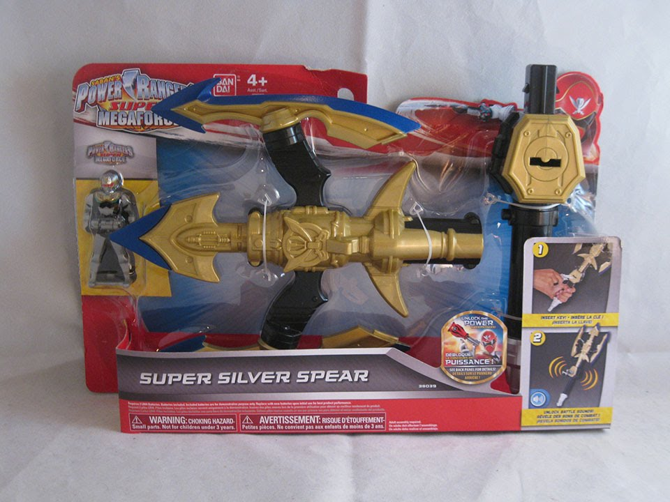 super silver spear review power rangers super megaforce youtube super silver spear review power rangers super megaforce